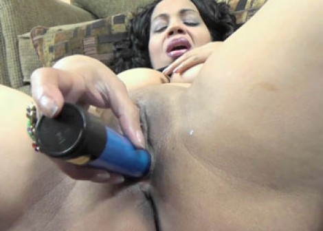 Dolly Naught is fucking her mature twat